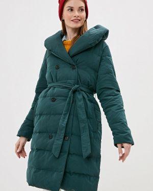 Зимняя куртка осенняя зеленая Incity