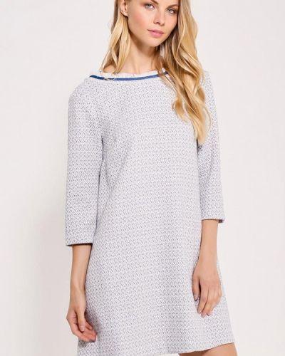 Прямое белое платье Nastasia Sabio