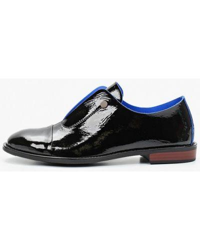 Кожаные лаковые черные кожаные туфли закрытые Boogie Woogie