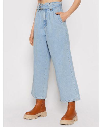 Niebieskie mom jeans Gestuz