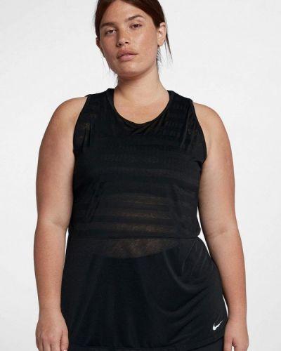 Черная майка спортивная Nike