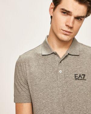 T-shirt skromny długo Ea7 Emporio Armani
