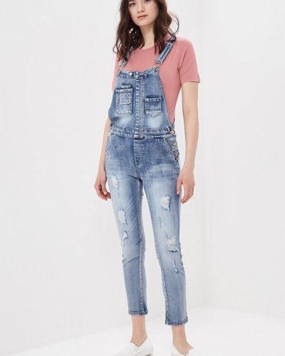 Синий джинсовый комбинезон Softy