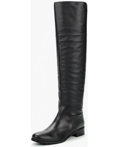 Ботфорты на каблуке кожаные Enzo Logana