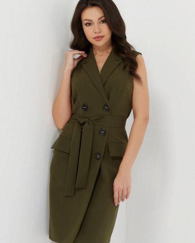 Платье платье-пиджак зеленый Verna Sebe