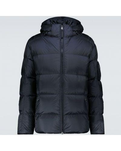 Черная теплая пуховая дутая куртка Bogner