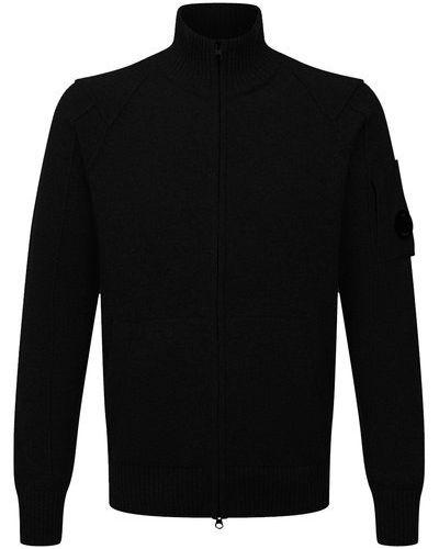 Черные шерстяные брюки C.p. Company