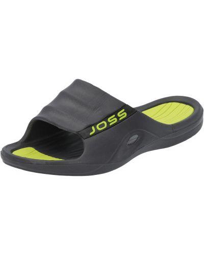 Серые облегченные шлепанцы для бассейна Joss