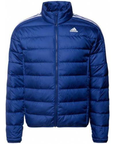 Niebieska kurtka z paskiem Adidas Performance