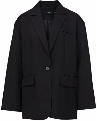 Черный пиджак оверсайз Befree