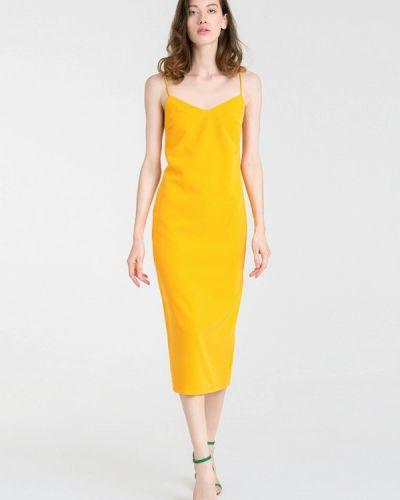 Платье осеннее желтый Magnetic