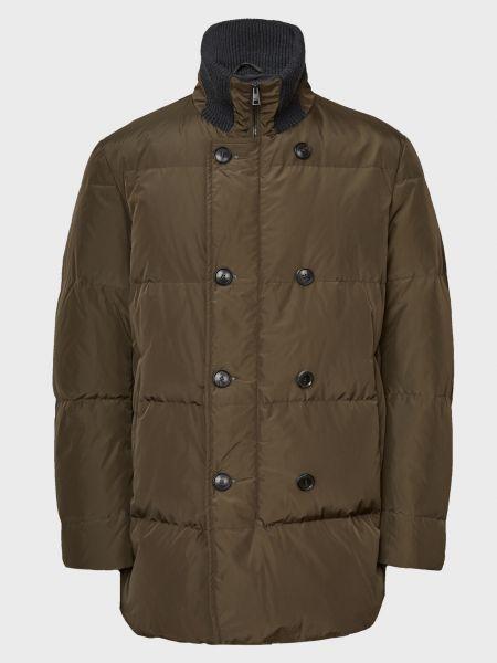 Куртка на пуговицах - зеленая Gallotti