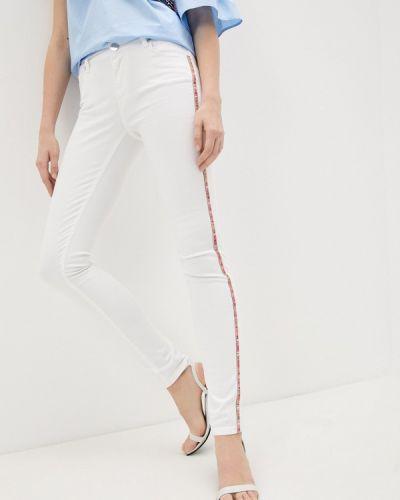 Зауженные джинсы - белые Trussardi