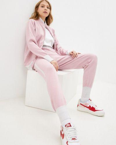 Вязаный костюм - розовый Moki
