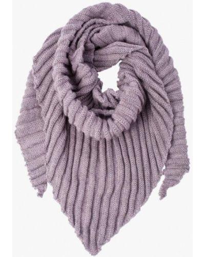 Розовый шарф осенний Fomas