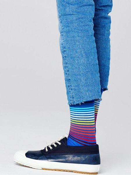 Носки с нашивками Happy Socks