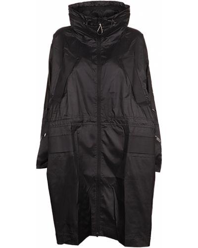 Czarny płaszcz Adidas By Stella Mccartney