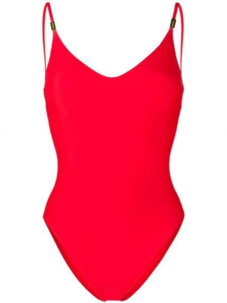 Слитный купальник с открытой спиной с вырезом Calvin Klein