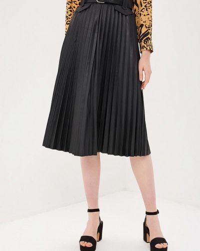 Плиссированная юбка черная River Island