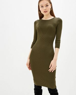 Платье осеннее вязаное Lusio