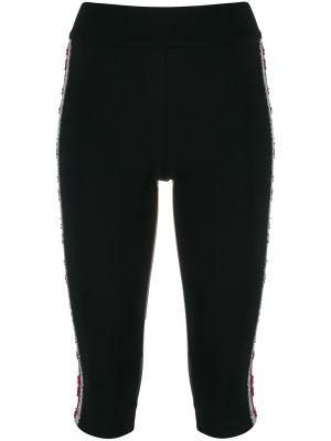 Спортивные шорты черные для бега No Ka 'oi