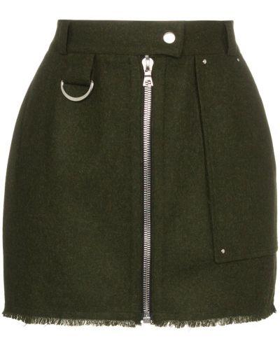 Плиссированная юбка мини узкого кроя Beau Souci