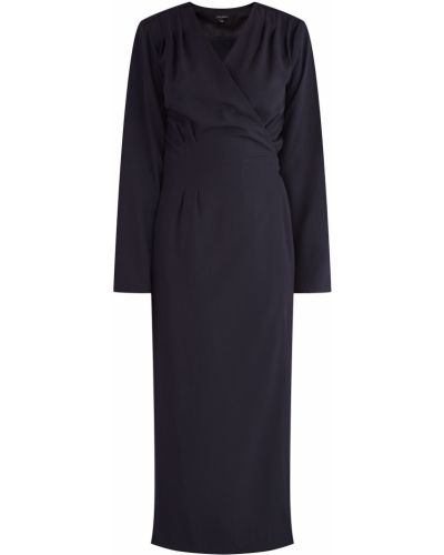 Вечернее платье миди с запахом Tara Jarmon