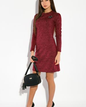 Хлопковое платье - серое Time Of Style