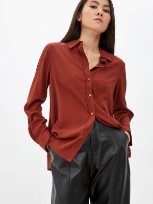 Блузка - коричневая Mango