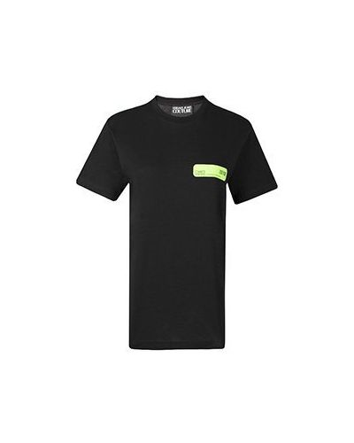 Черная футболка Versace Jeans