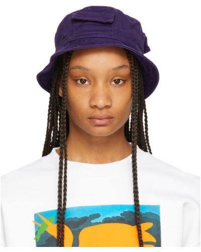 Хлопковая черная шапка с карманами Heron Preston