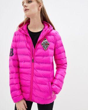 Розовая спортивная куртка Plein Sport