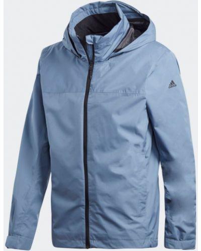 Куртка с капюшоном с манжетами на молнии Adidas