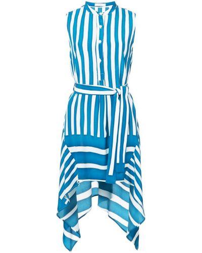 Платье макси в полоску шелковое Tome