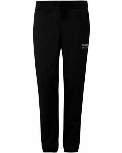 Флисовые спортивные брюки - черные Lee Cooper