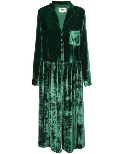 Платье миди на пуговицах восточное Mm6 Maison Margiela