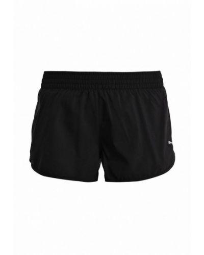 Черные спортивные шорты Puma