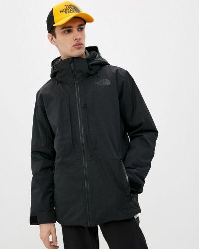 Черная куртка горнолыжная The North Face