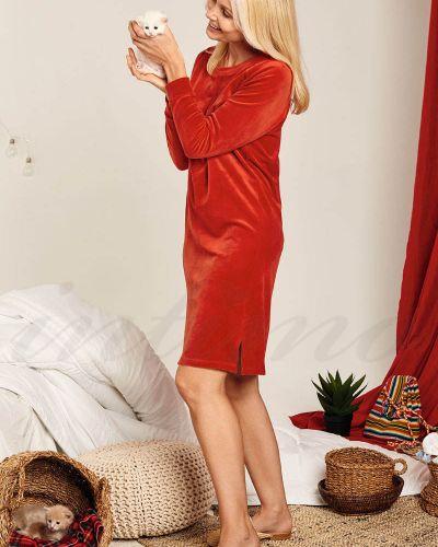 Платье макси длинное - красное Anabel Arto