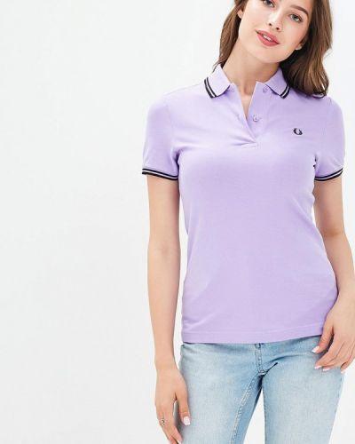 Фиолетовое поло Fred Perry