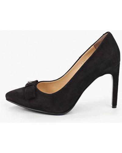 Черные туфли-лодочки Hestrend