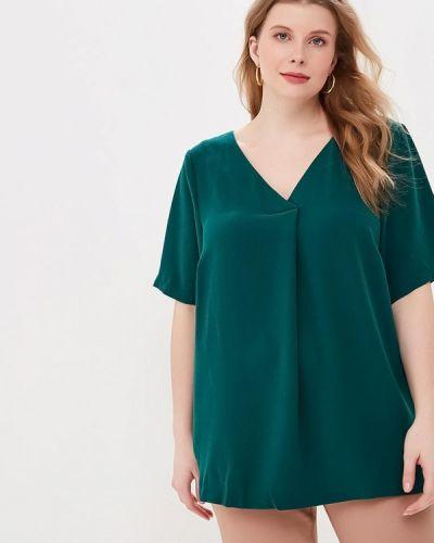 Блузка зеленый весенний Zizzi