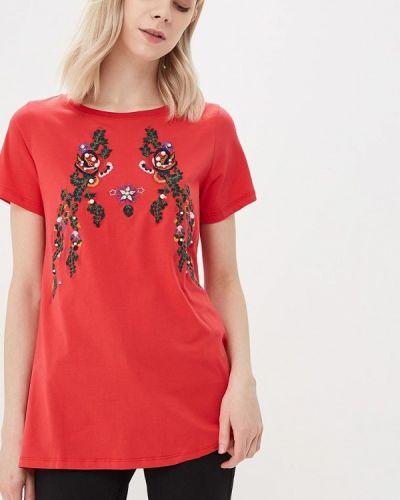 Красная футболка Blue Oltre