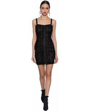 Платье на бретелях на шнуровке Dolce & Gabbana