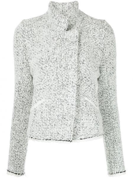 Белый пиджак из полиэстера Isabel Marant