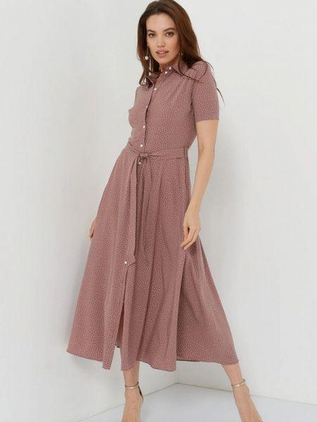 Коричневое платье A.karina