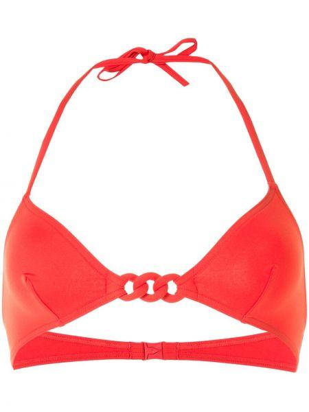 Красные бикини с драпировкой Eres