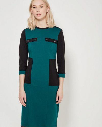 Платье весеннее зеленый Adzhedo