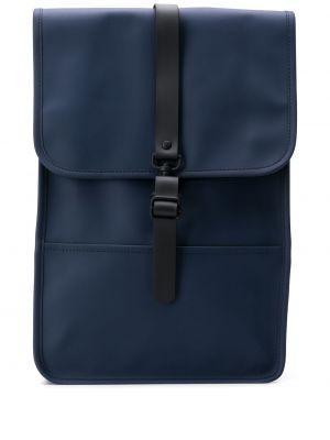 Рюкзак из полиэстера - синий Rains