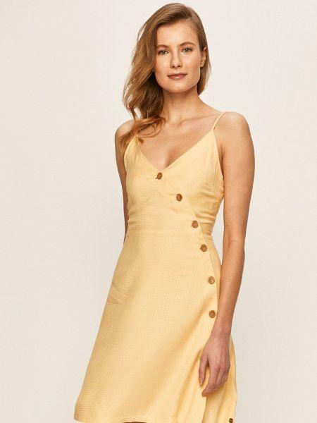 Тонкое облегающее платье с вырезом Roxy